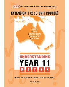 Understanding Year 11 Extension 1 Maths (old syllabus)